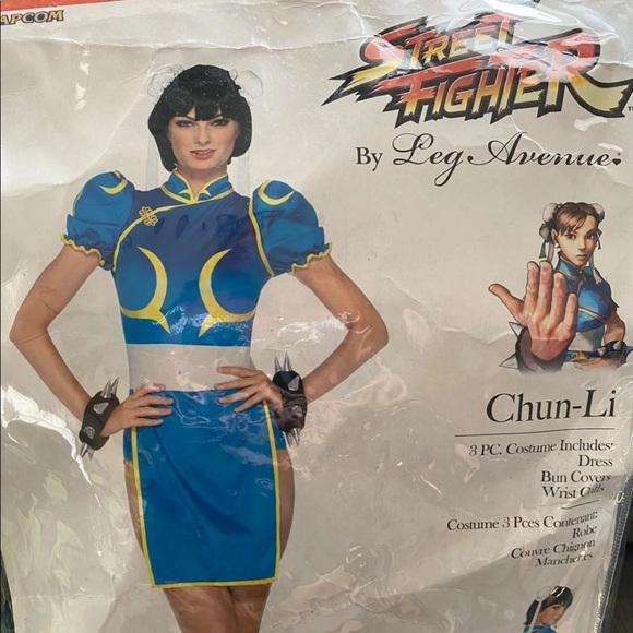 Chun li Street Fighter costume